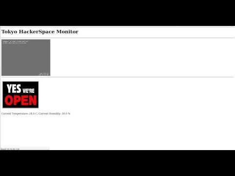 HackerSpace Monitor Demo