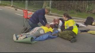 Preston New Road  Fracking Blockade