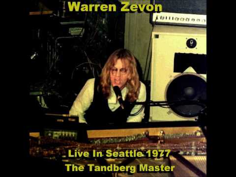 Warren Zevon Paramount Theater Seattle, WA February 5, 1977