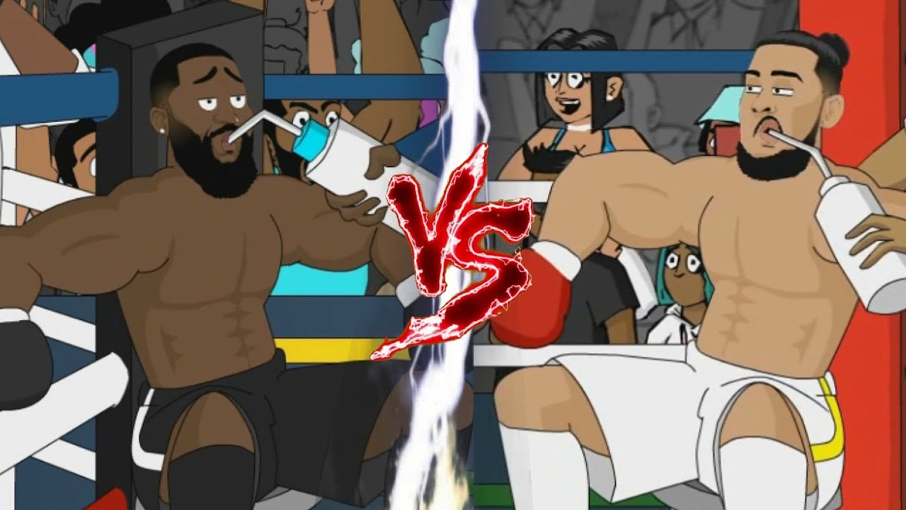 AKA vs Cassper Nyovest Boxing Match [Full Fight Animated Parody] | Mzansi's Got Magic