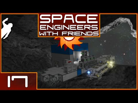 Space Engineers with Friends - Episode 17 ...It's Raining Ore!...