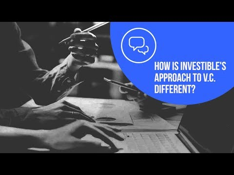 How is Investibles approach to Early-Stage Venture Capital different?