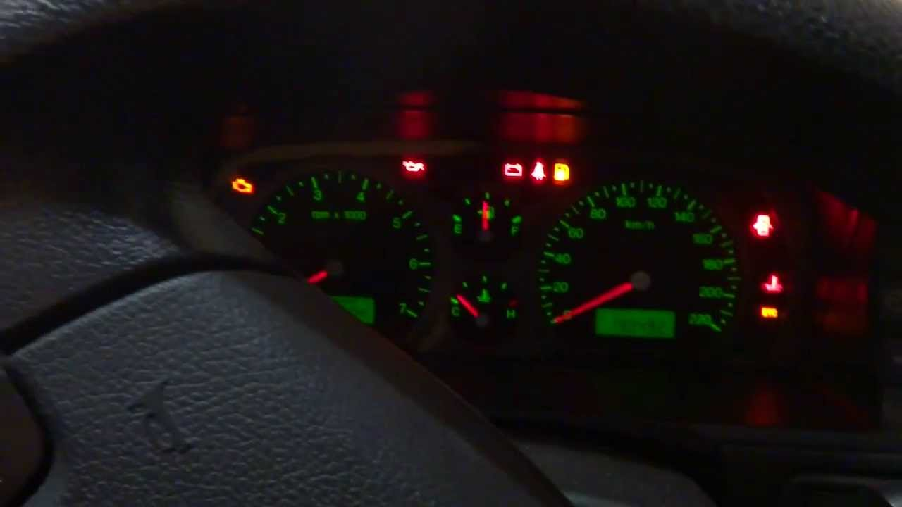 How to fix Ford Falcon Illumination Light issue in Instrument cluster and odometer  YouTube