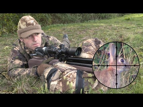The Airgun Show – scope-cam rabbit hunting in the wind, PLUS QYS Olympic and Match Grade pellets