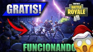 COMO TENER SALVA AL MUNDO GRATIS! Fortnite Battle ROYALE (COMMENT OBTENIR SAVE THE WORLD GRATUITEMENT)