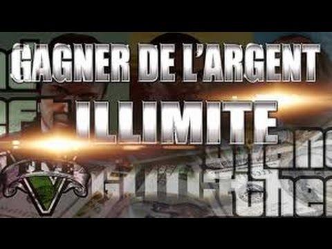 GTA 5 GLITCH DARGENT ILLIMITÉ VERSION 1.34 !