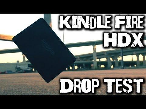 Drop Test: Kindle Fire HDX
