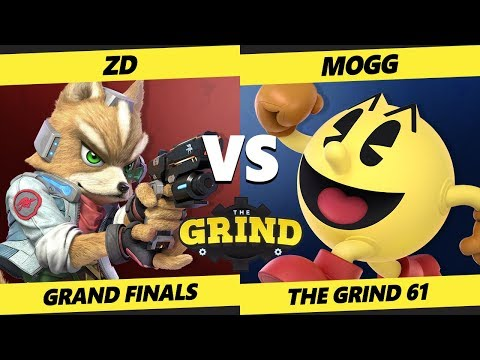 Smash Ultimate Tournament - ZD (Fox, Falco)  Vs. Mogg [L] (Pac-Man) - The Grind 61 Grand Finals