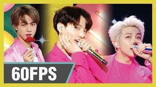 60FPS 1080P | BTS - Boy with Luv, 방탄소년단 - 작은 것들을 위한 시 Show! Music Core 20190427