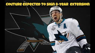 Logan Couture expected to sign 8-year contract extension with Sharks