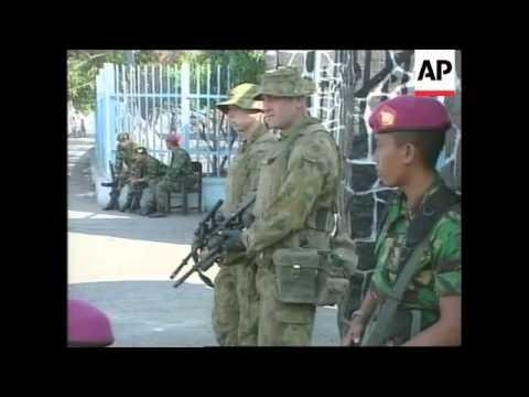 EAST TIMOR: PEACEKEEPING MISSION UPDATE: PATROLS