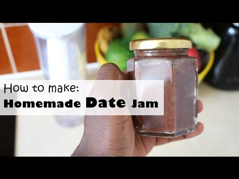 How to make Homemade Date Jam