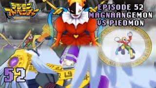 Digimon Adventure PSP - Walkthrough Episode 52 ~ MagnaAngemon/HolyAngemon vs Piedmon