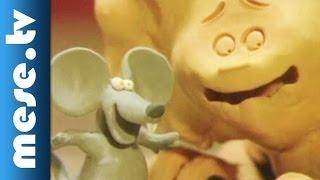 Auguszta és az egér (gyurmafilm, animáció gyerekeknek)