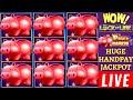 Piggy Bankin Slot HUGE HANDPAY  High Limit Lighting Link ...