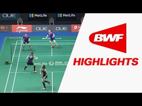 OUE Singapore Open 2017 | Badminton SF – Highlights