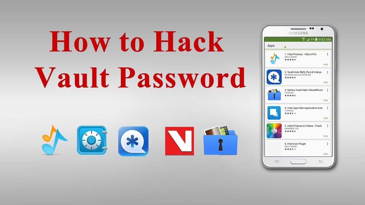 How to Crack vault password