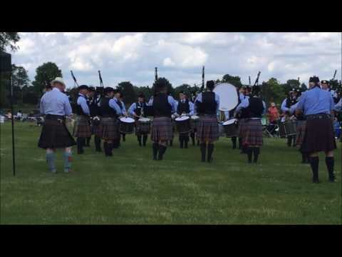 Chicago Highland Games - Grade 2 MSR - Midlothian Pipe Band