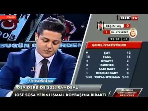 Beşiktaş 0   2 Galatasaray   Burak Yılmaz Golü Anında BJK TV