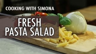 How to Make Fresh Summer Pasta - Cooking with Simona