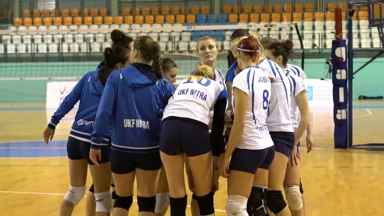 Volejbal  Volley project UKF Nitra - VK Slávia EU Bratislava 0 3 ... 5c23bbec03