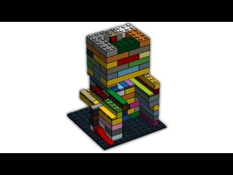How To Build A Lego Candy Machine Mechanism Coin Rejection