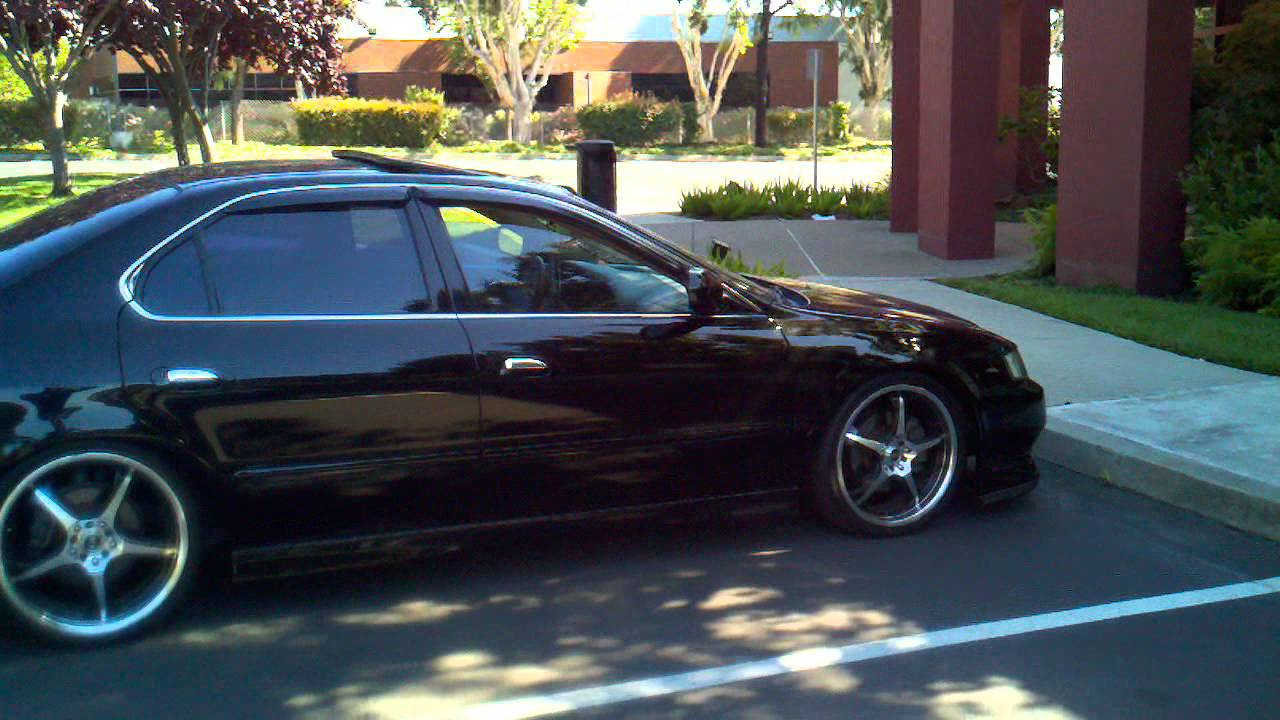 99 Acura TL Dropped