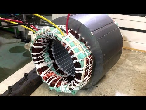 Electric Motor HOW IT'S MADE-Super Electric Motor Manufacturing Technology in China