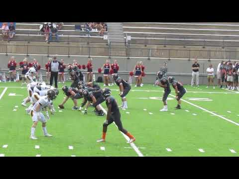 Valwood Gets A 3rd Quarter Touchdown vs Autauga Academy In Montgomery Alabama At The Cramton Bowl