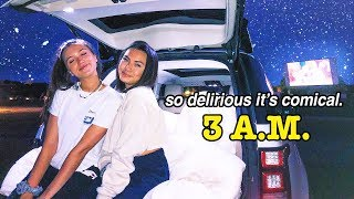 pulling a summer all nighter ft. hannah meloche