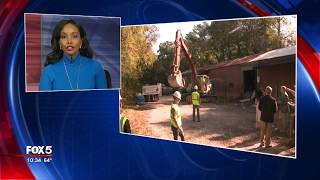 Demolition begins on Peachtree Creek Greenway