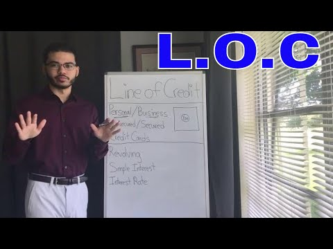 How To Get A Personal Line Of Credit