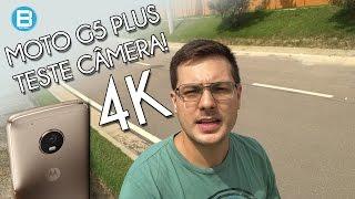 MOTO G5 PLUS - TESTE DE CÂMERA EM 4K!! SERÁ QUE É BOM?
