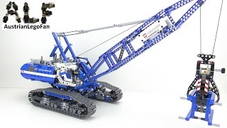 Lego Technic 42042 Crawler Crane / Seilbagger - Lego Speed Build Review
