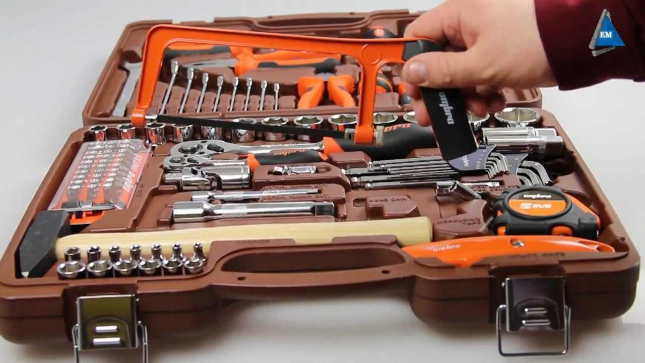 Набор инструментов Ombra OMT101S - YouTube