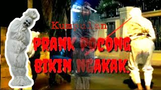 Best just for laughs gags prank ! Pocong kena tilang | prank pocong
