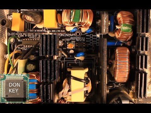 500W Be Quiet! ATX power supply teardown, detailed overview and repair