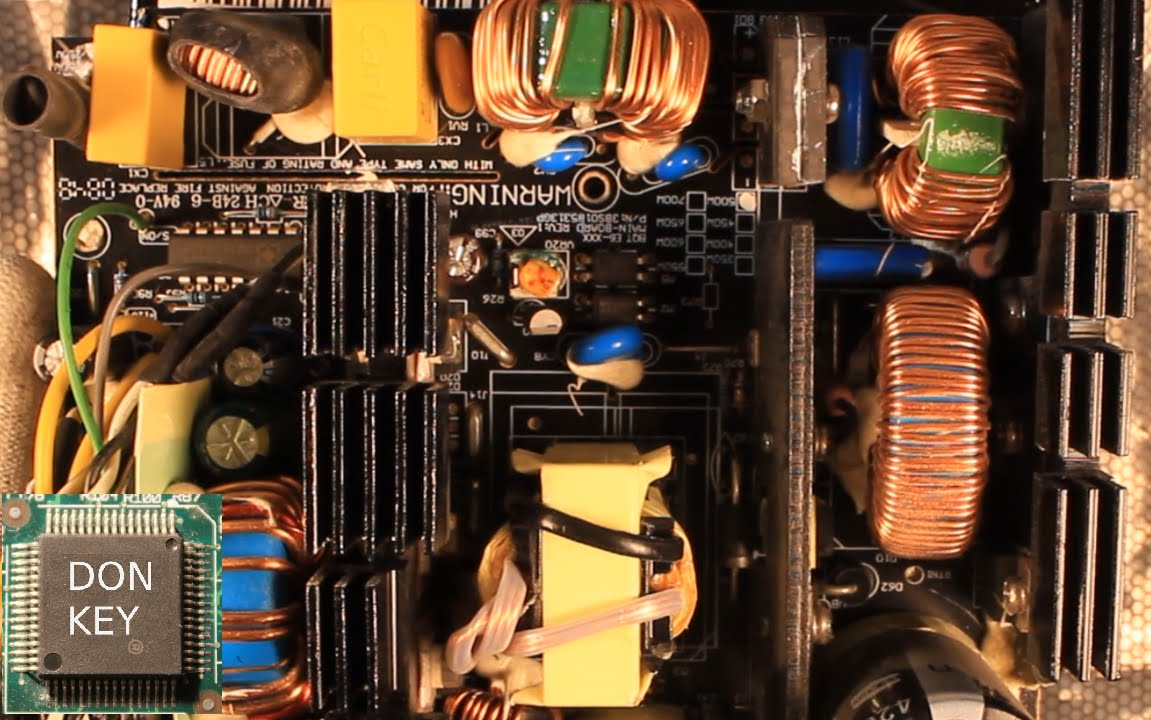 500W Be Quiet! ATX power supply teardown, detailed overview and ...