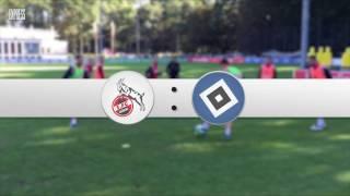 Bundesliga: 1. FC Köln gegen den Hamburger SV