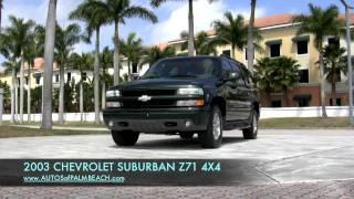 2003 Chevrolet Suburban Z71 4X4  A2646