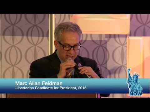 Marc Allan Feldman - Libertarian Presidential Thug Life!!