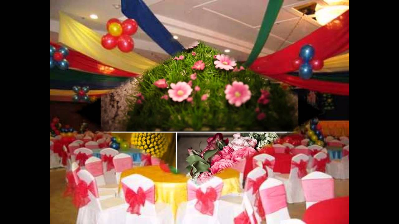 Great Outdoor birthday party decoration YouTube