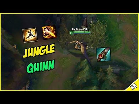 ✔ SEASON 6 QUINN REWORK JUNGLE OP? - Mobile ADC Assassin - PBE Live Commentary | League of Legends