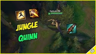 ✔ SEASON 6 QUINN REWORK JUNGLE OP? - Mobile ADC Assassin - PBE Live Commentary | League of Legends