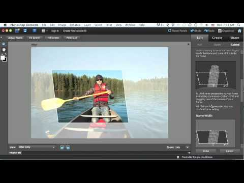 New Features In Photoshop Elements 9: Out-of-Bounds Photo (Part 1)
