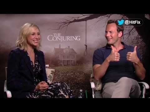 Patrick Wilson and Vera Farmiga talk about the clothing and religion in 'The Conjuring'