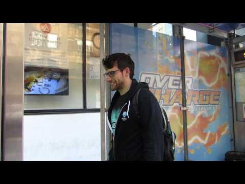 XBOX One Sunset Overdrive • Augmented Reality • Interactive Transit Shelter