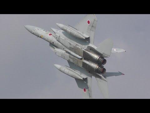 【元ブルーインパルス パイロット】平間さん操縦 F-15 EAGLE 機動飛行 2018 築城基地航空祭 / TSUIKI AIR SHOW 20181125