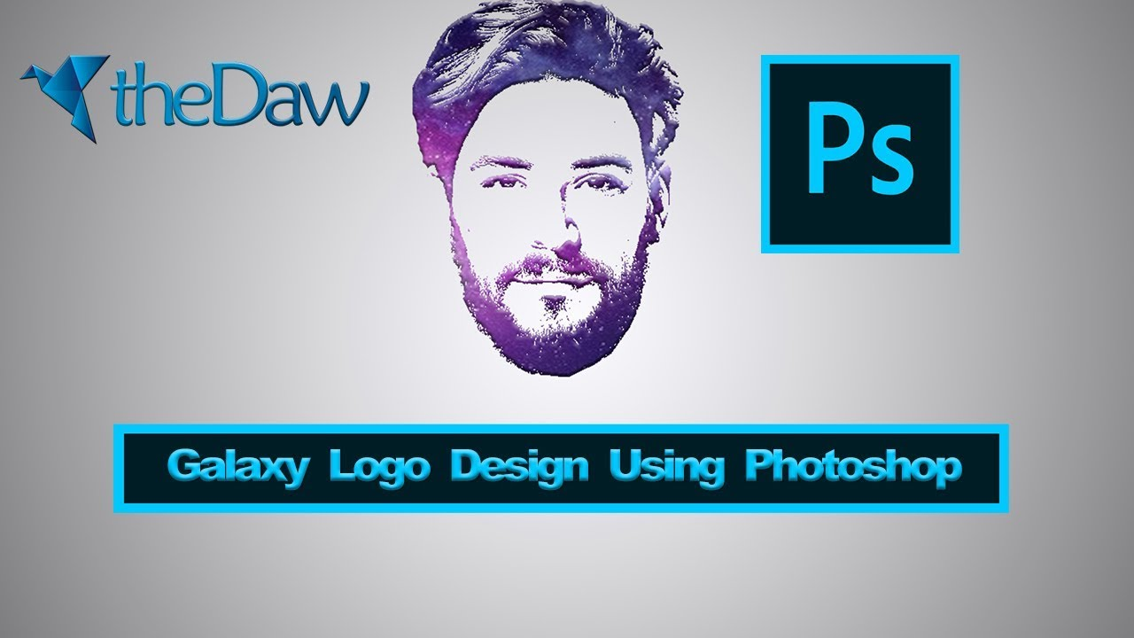 Galaxy Logo Design From Face | PhotoShop Tutorial | theDaw