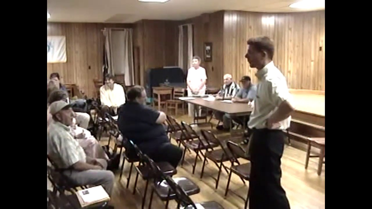 Ellenburg Wind Farm Meeting part two - 2005